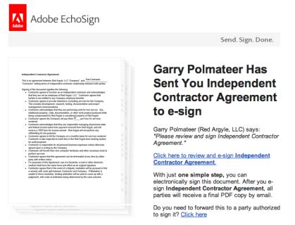 Salesforce Electronic Signature System | Red Argyle
