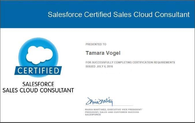 My Path to Becoming a Certified Sales Cloud Consultant - Red Argyle