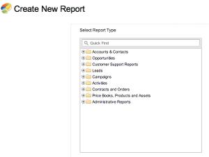 Salesforce Reports
