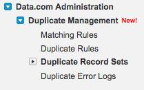 Salesforce Duplicate Matching Rules