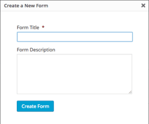 Step One for Web-to-Lead Form in WordPress