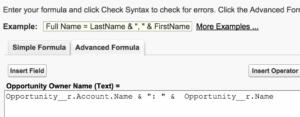 Screen shot: Adding Merge Fields in Salesforce Template Builder 3