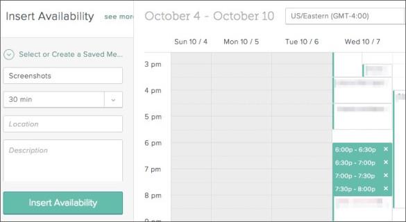 SalesforceIQ Calendar Integration Screen grab
