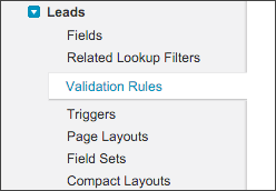 Salesforce Validation Rules should be a last option